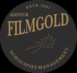 Filmgold Logo, rund